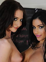 Secretaries in High Heels Miss Keira and Natalie Thomas in January 2012
