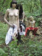 Lesbians, Carole Hunt and Jen Bailey and Samantha Bentley 2